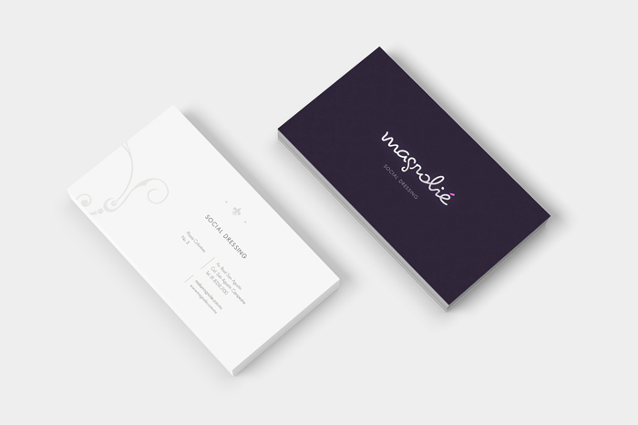 Branding, design and visual direction for a dressing boutique
