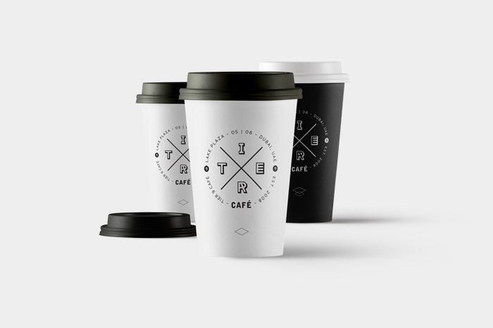 Branding and identity design for a contemporary coffee shop
